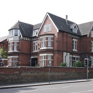 Hamilton House from Hucknall Road